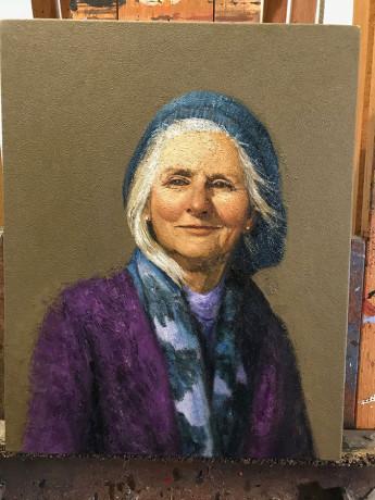 Portrait. Dianna